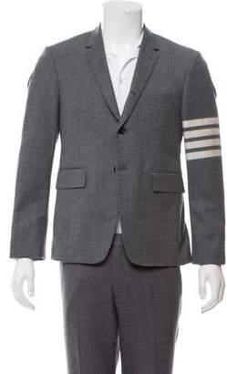Thom Browne 4-Bar Wool Blazer