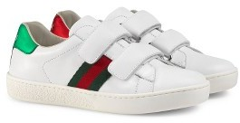Toddler Boy's Gucci New Ace Sneaker $295 thestylecure.com