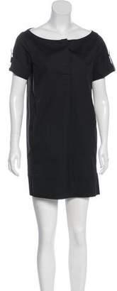 Prada Sport Short Sleeve Bateau Neckline Tunic