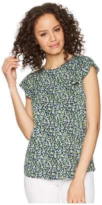 MICHAEL Michael Kors Tiny Wildflower Sleeveless Top Women's Sleeveless