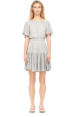 Rebecca Taylor Gathered Jersey Dress