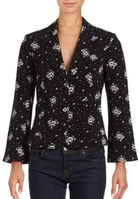 Stardust Floral Print Jacket