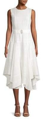 Calvin Klein Eyelet Embroidered Dress