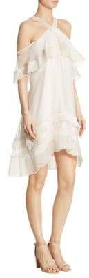 Blake Pleated Loose-Fit Dress