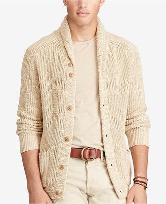 Polo Ralph Lauren Men's Shawl Cardigan $225 thestylecure.com