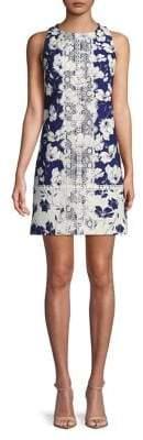 Eliza J Floral Printed Sheath Dress