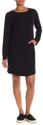 Susina Solid Sweatshirt Dress