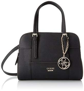 GUESS Huntley Small Cali Black $98 thestylecure.com