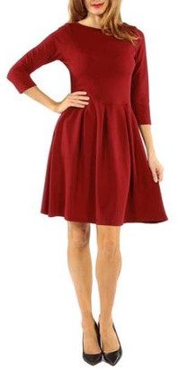 24/7 Comfort Apparel Women's The Classic Little Black Dress