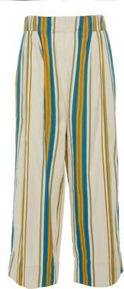 Péro Cropped Cotton Pants