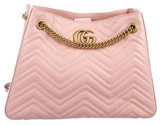 Gucci Medium GG Marmont Matelassé Bag