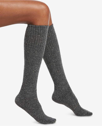 Hue Tweed Knee-High Socks