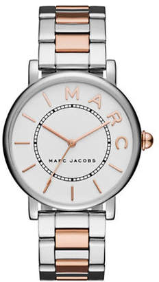 Marc Jacobs Roxy Two-Tone Stainless Steel Bracelet Watch