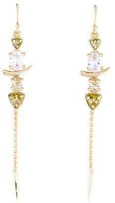 Alexis Bittar Miss Havisham Crystal Spear Drop Earrings