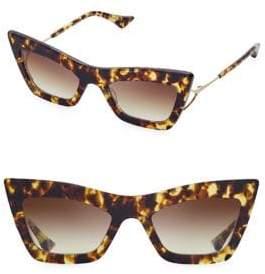 Dita Eyewear Women's 53MM Erasur Cat-Eye Sunglasses - Tortoise