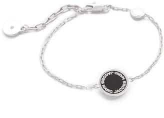 Marc Jacobs Enamel Logo Disc Bracelet $55 thestylecure.com