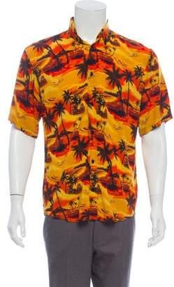 Balenciaga 2018 Hawaiian Sunset Shirt