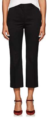 Altuzarra Women's Adler Wool High-Waist Crop Flared Trousers