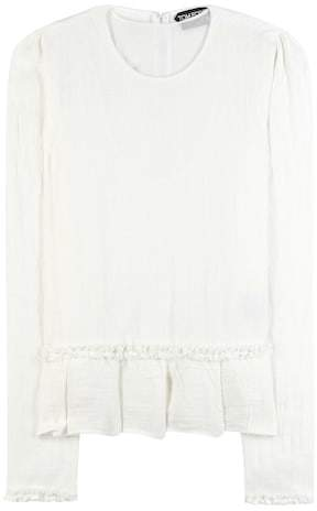 Tom Ford Linen blouse