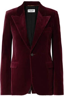 9a4d0238f Womens Burgundy Velvet Jacket - ShopStyle UK