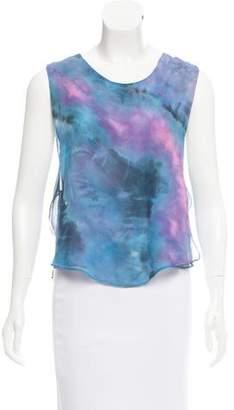 Veda Tie-Dye Silk Top