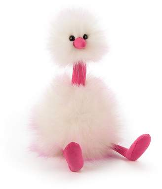 Jellycat Raspberry Ripple Pom Pom - Ages 1+