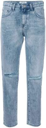 One Teaspoon distressed straight jeans
