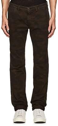 Barneys New York Men's Camouflage Stretch-Cotton Chinos