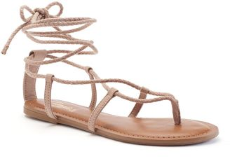 Candie's® Women's Lace-Up Sandals $29.99 thestylecure.com