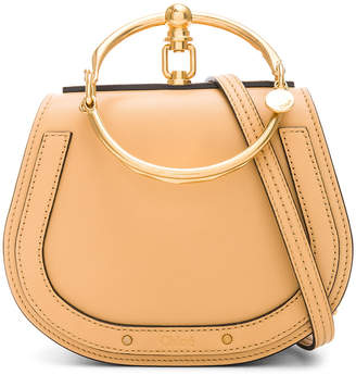 Chloé Small Nile Calfskin & Suede Bracelet Bag