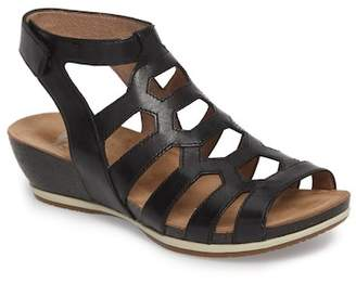 Dansko Valentina Caged Wedge Sandal (Women)