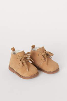 H&M Suede Desert Boots - Brown