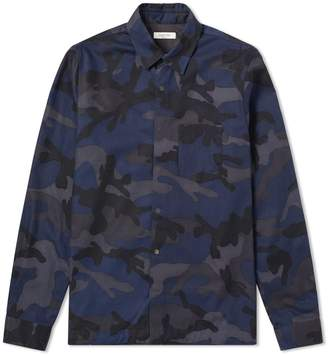 Valentino Camo Drawstring Overshirt