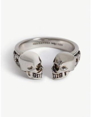 Alexander McQueen Side skull ring