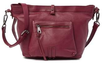 Joelle Gagnard Hawkens Fairfax Large Leather Crossbody Bag