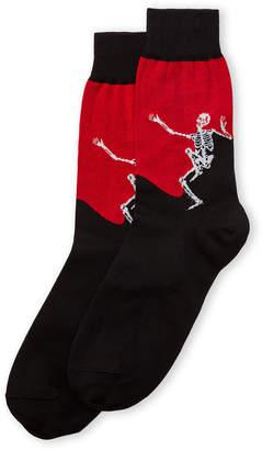 Alexander McQueen Dancing Skeleton Socks