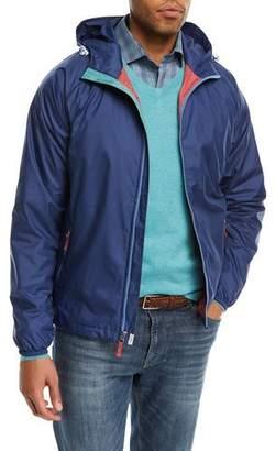 Peter Millar Seaside Wind-Resistant Hooded Jacket