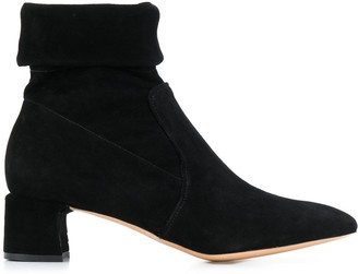 Parallèle foldover top boots