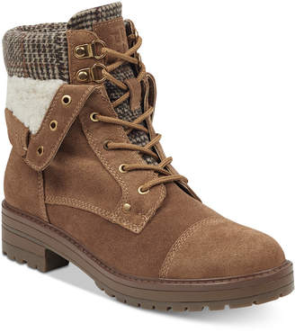 Tommy Hilfiger Dyan Lace-Up Winter Boots Women's Shoes