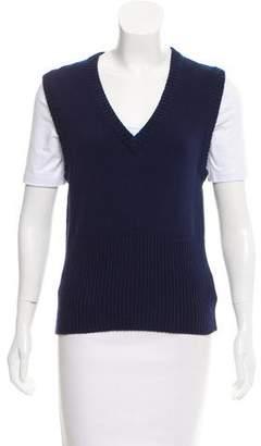 Michael Kors Cashmere-Blend Sweater Vest