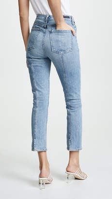 Citizens of Humanity Olivia Seam High Rise Slim Cropped Jeans