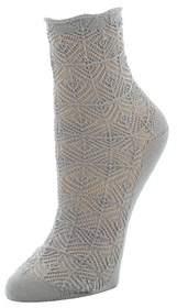 Natori Circular Knit Crew Socks