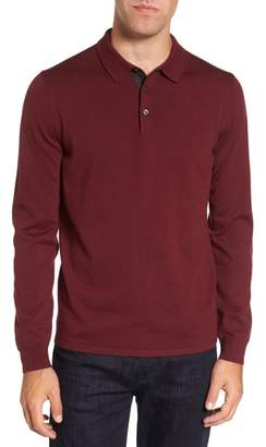 Nordstrom Merino Wool Polo Sweater