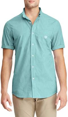 Chaps Short-Sleeve Easy Care Button-Down Shirt