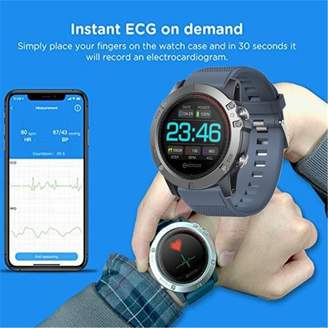 Kadell Zeblaze Wrist Smart Watch Phone Alarm Mate Waterproof Smart Bracelet for iOS Android - VIBE 3 / VIBE 3 ECG