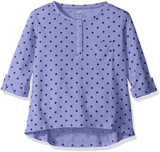 Scout + Ro Big Girls' Three-Quarter Sleeve Dot Tunic with Pocket
