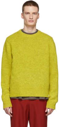 Acne Studios Yellow Kai Crewneck Sweater