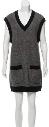 Sonia Rykiel Virgin Wool Shift Dress