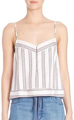 Elle Sasson Women's Dian Silk Printed Top