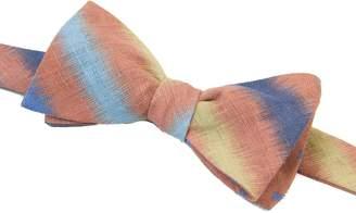 40 Colori - Rust Auroras Printed Linen Bow Tie